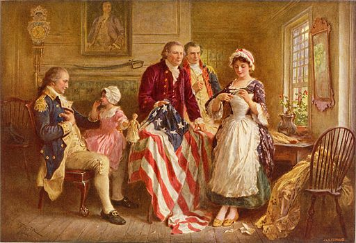Betsy Ross Flag The American Almanac-min